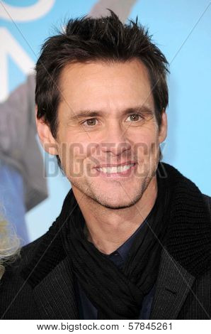Jim Carrey   at the Los Angeles Premiere of 'Yes Man'. Mann VIllage Theater, Westwood, CA. 12-17-08