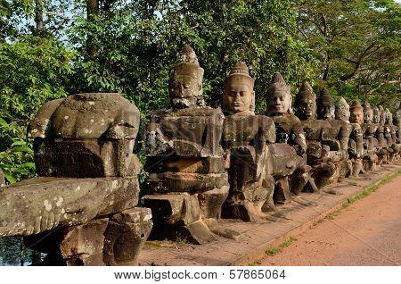 Statues On Verge