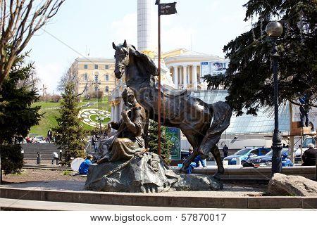 Statue Of Cossack Mamay, Kiev
