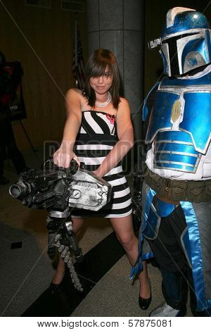Cady Goodson at the Los Angeles Special Screening of 'Fanboys'. Clarity Screening Room, Beverly Hills, CA. 02-03-09