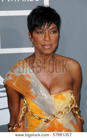 Natalie Cole at the 51st Annual GRAMMY Awards. Staples Center, Los Angeles, CA. 02-08-09