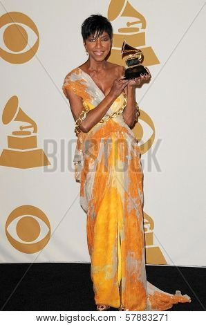 Natalie Cole  in the press room at the 51st Annual GRAMMY Awards. Staples Center, Los Angeles, CA. 02-08-09