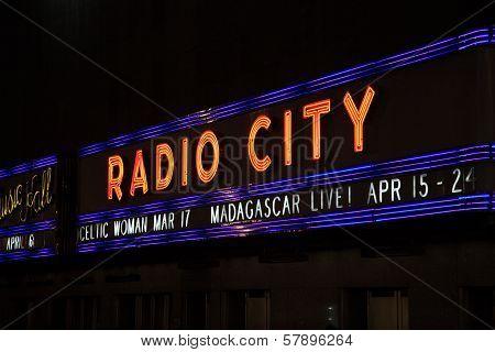 Radio City, New York