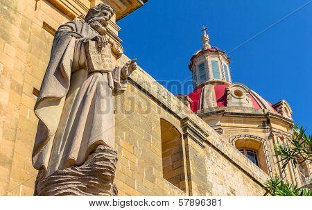 Sannat Religious Statue