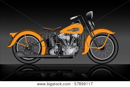Classic Motorcycle
