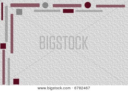 Retro stationary  stationery or clipart