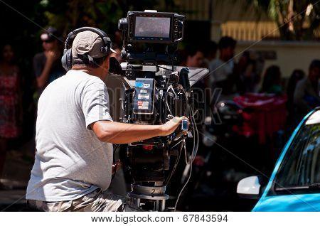 Brazilian Soap Opera Episode Filming