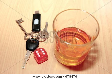 Whiskey Dice And Keys