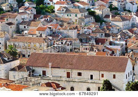 Typical Old Mediterranean Town