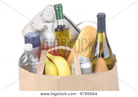 Grocery Bag With Handles