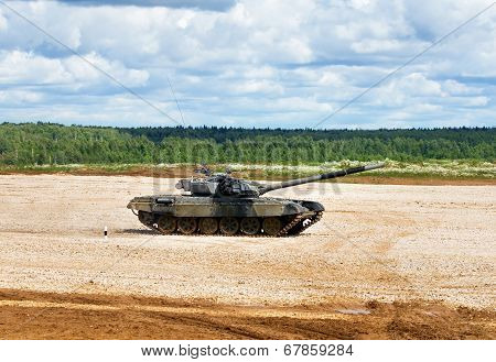 Tank On A March