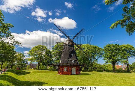 Windmill In Kastellet Fortress, Copenhagen