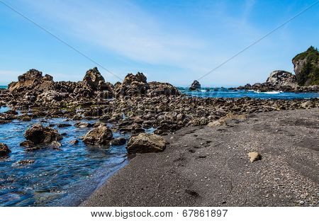 Rock Formation On Water
