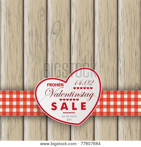 Heart Table Heart Valentinstag Wooden Background