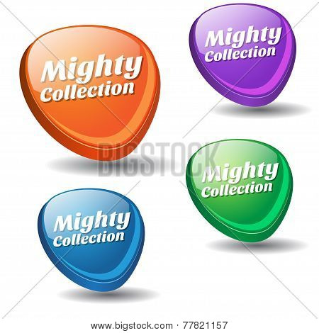 Mighty Collection Colorful Vector Icon Design