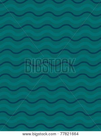 Wavey Line Background Pattern