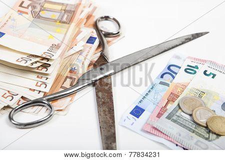 Monetary Scissors Come Apart
