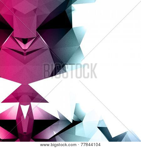 Abstract Vector Background with Space for Text