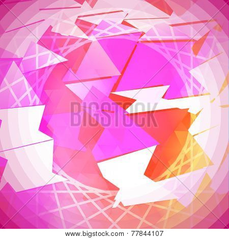 Saturated Abstract Background Vector