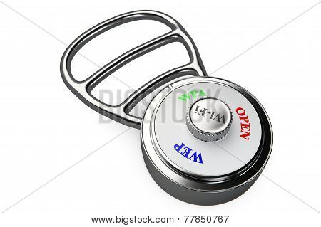 a combination lock with encryption protocols dial