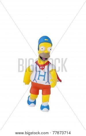 Dancing Homer Figurine
