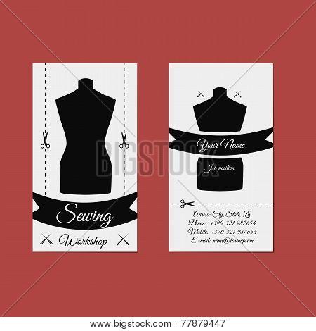 Vector Design Business Card Tailor.