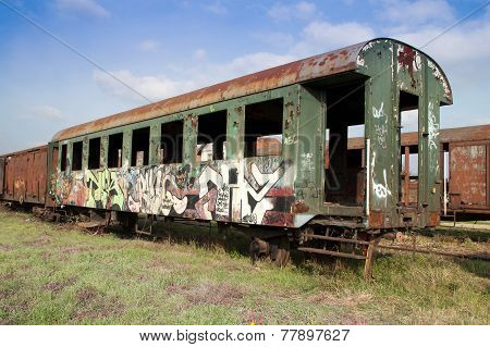 Old Passenger Coach