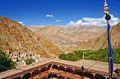 Ancient Buddhist Monastery of Hemis in Ladakh, India poster