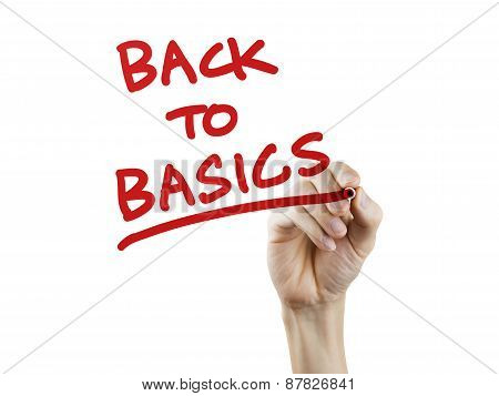 Back To Basics Written By Hand