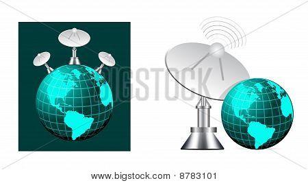 Satellite On Earth