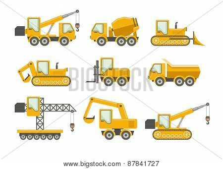 Vector construction icons