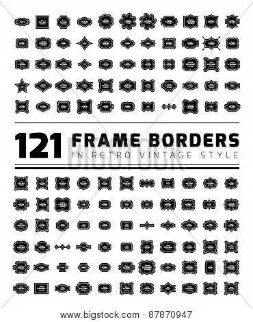 Border Frame Set.