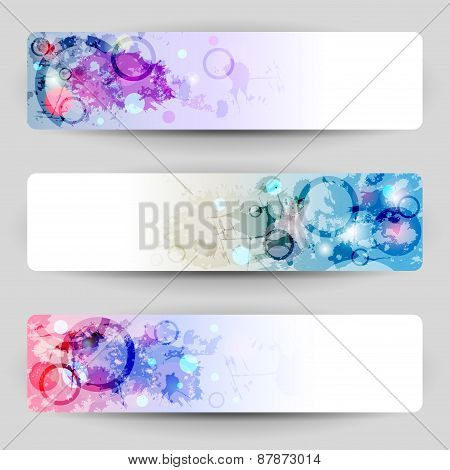 Banners With Blots