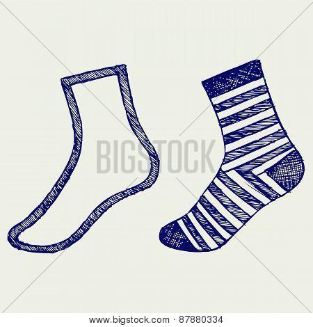 Pair socks