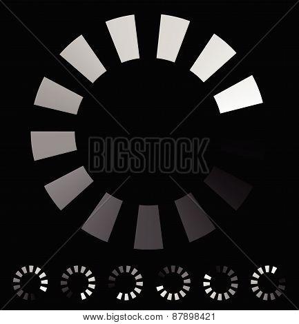 Round Preloader, Buffer Shape, Circular Progress Indicator
