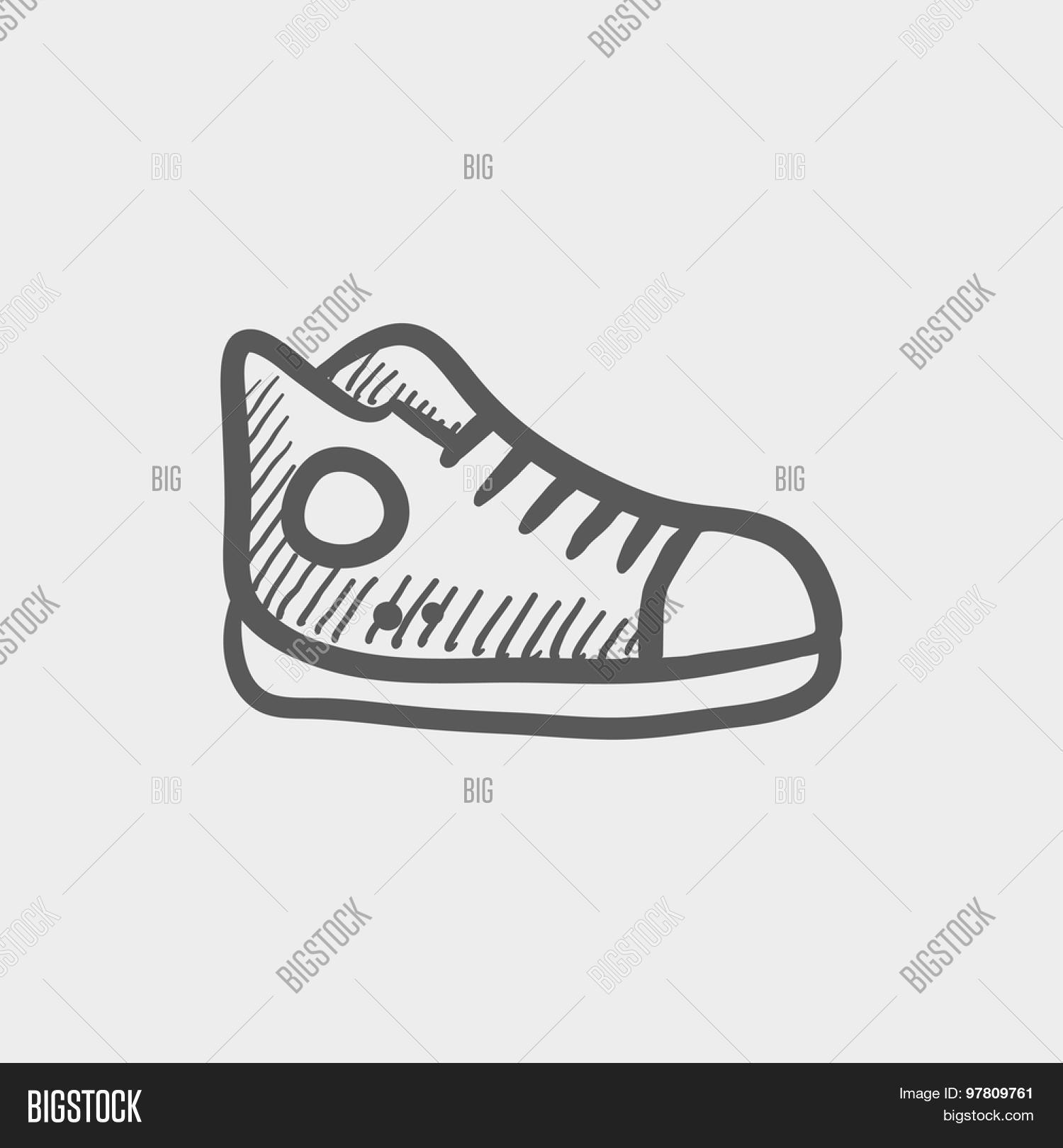 Hi-cut Rubber Shoes Vector & Photo (Free Trial) | Bigstock