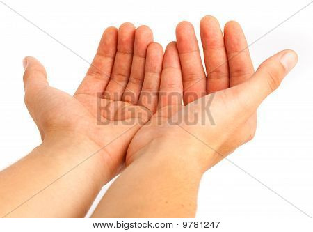 Hand Symbol Ask For