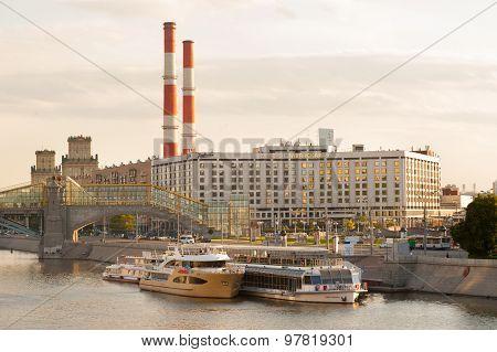 Radisson Slavyanskaya Hotel And River Ships
