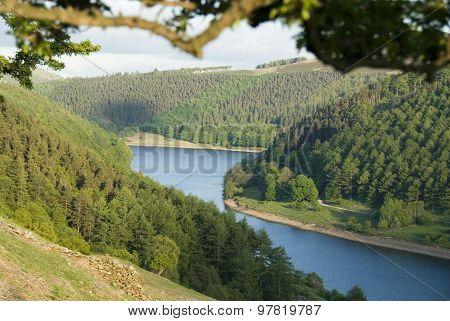 Ladybower reservoir, Peak District, Derbys