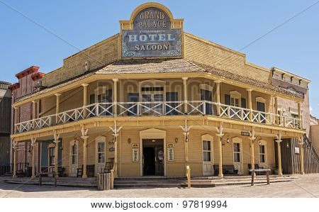 Hotel In Old Tucson