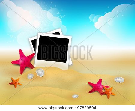 Summer Background With Photography