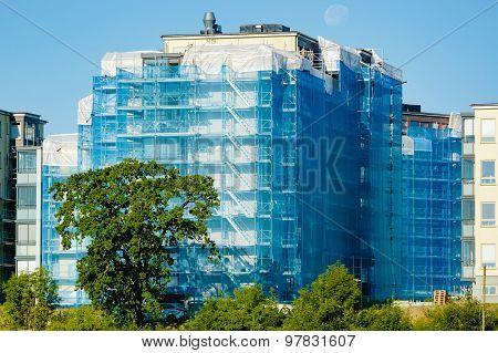 Renovating Building