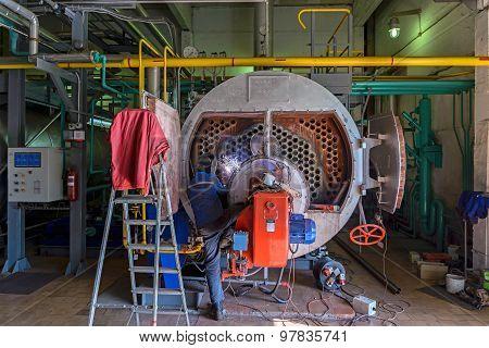 Repair Of The Boiler