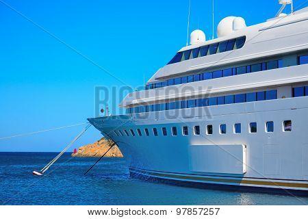 Luxury Yacht In Porto Cervo