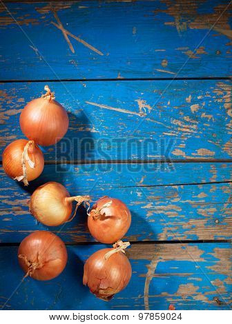 Onion On Table