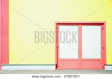 Colorful sidewall