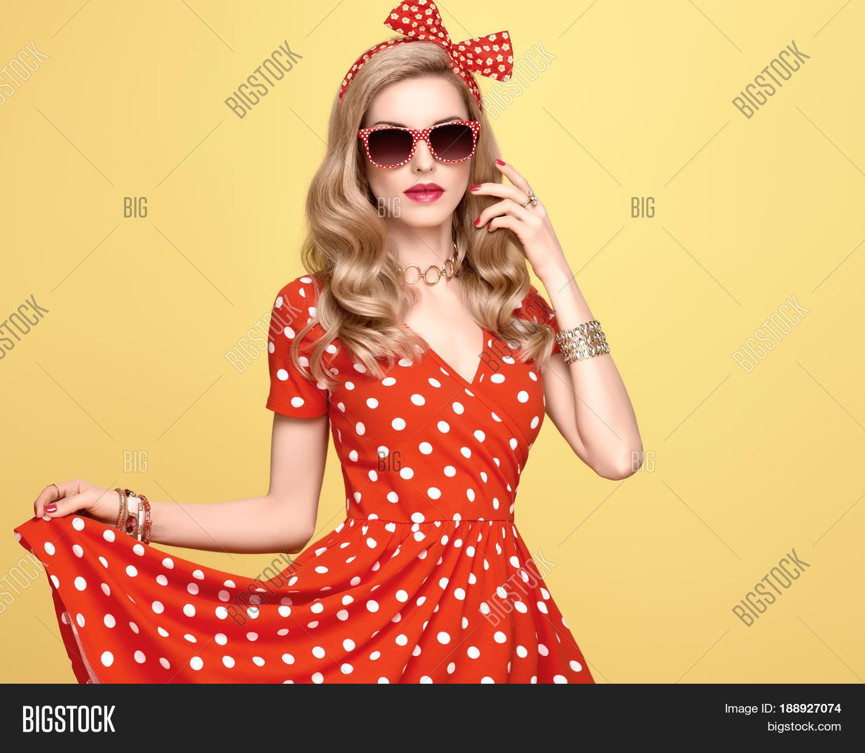 girls dress polka Sexy in dot