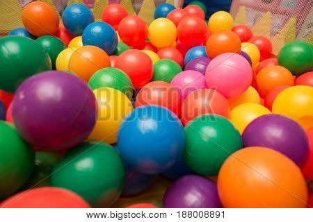 Variety Of Multicolored Fun Ball Pit Balls