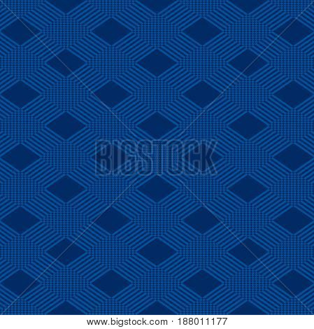 creative two stripes triangular ornamental pattern background vector