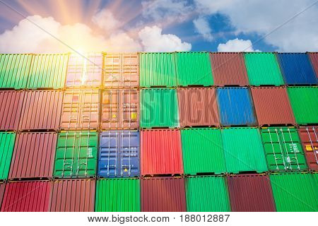 container for shipping & delivery export import.